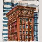Wainwright Bldg sketch 3 by Michael Anderson
