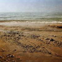 Lake Michigan And Pier Cove Creek Art Prints & Posters by Michelle Calkins