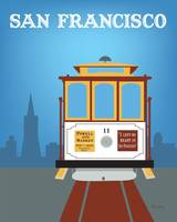 San Francisco, California - Cablecar