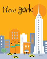 New York City, New York - Orange