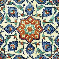 An Iznik Polychrome Tile, Turkey, circa 1580, by A