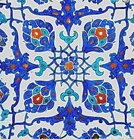 An Iznik polychrome tile, Turkey, circa 1585, by A