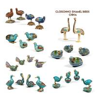 cloisonné enamel animals China