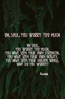 Oh, Soul, You Worry Too much by Rumi