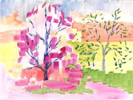 Autumn Tree Study 4