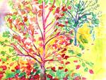 Autumn Tree Study 5 by Jennifer Lommers