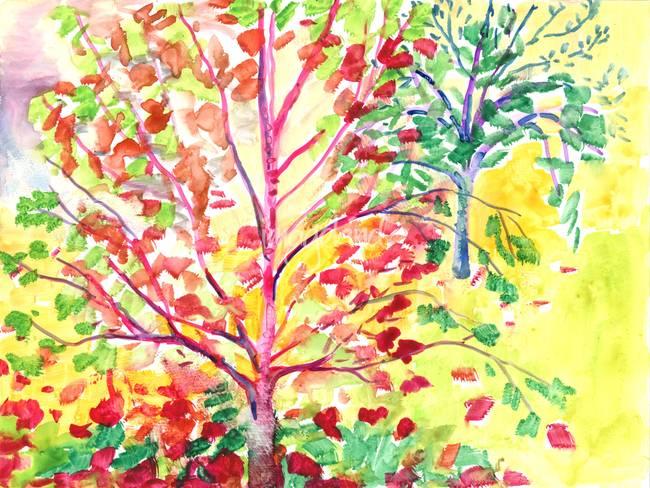 Autumn Tree Study 5
