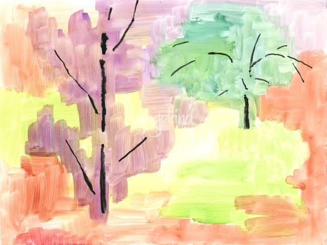 Autumn Tree Study 1