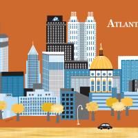 """Atlanta, Georgia"" by loosepetals"