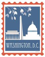 Washington, D.C. - Stamp