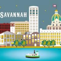 """Savannah, Georgia"" by loosepetals"
