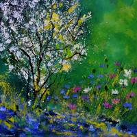 Seringuat in my garden Art Prints & Posters by pol ledent
