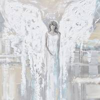 """""Angel of Love"" Angel Painting"" by ChristineKrainock"