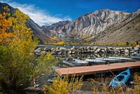 Dockside in Autumn at Convict Lake