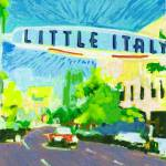 Little Italy San Diego Sign by RD Riccoboni