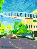 Little Italy San Diego Sign