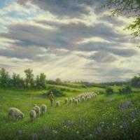 The Shepherd Art Prints & Posters by Barry DeBaun