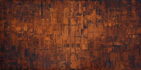 Burnt Orange Abstract