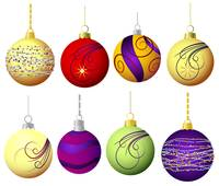 Christmas baubles - decoration