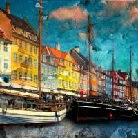 Nyhavn Harbor-Copenhagen Art Prints & Posters by Anna Yanev