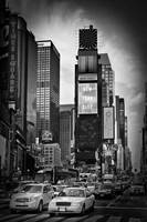 NEW YORK CITY Times Square | Monochrome
