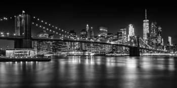 MANHATTAN SKYLINE Nightly Impressions | Panoramic