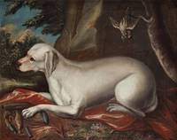 DAVID KLÖCKER EHRENSTRAHL CIRCLE OF, HUNTING DOG.