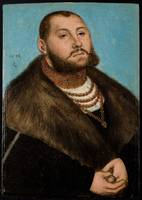 CRANACH EL VIEJO, LUCAS (WORKSHOP OF) Portrait of