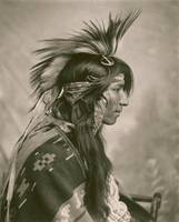 Cree Indian , Saskatchewan, taken by G. E. Fleming