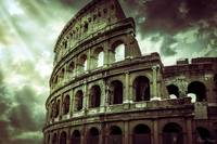 The Colosseum - Coliseum in Rome Italy