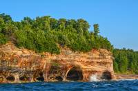 Coves of Pictured Rocks