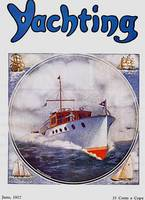 VINTAGE YACHTING MAGAZINE COVER