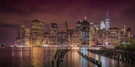 NEW YORK CITY Nightly Impressions | Panoramic
