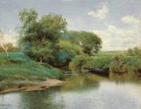 Emilio Sánchez-Perrier, Boating on the River c. 18