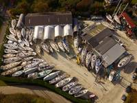A SYMETRICAL BOAT YARD