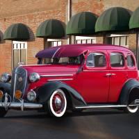 1936 Chevrolet Master Deluxe Sedan I Art Prints & Posters by Dave Koontz
