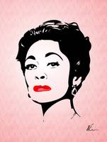 Mommie Dearest - Bring me the Axe! - Pop Art