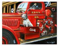 FIRE CHIEF   FDNY 1920 Dalmation