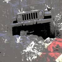 Jeep JK American Trail Hero Art Prints & Posters by Luke Moore