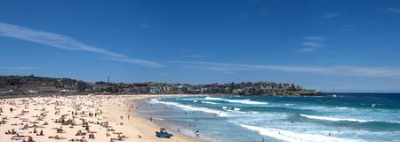 Bondi Beach Panoramic from South End