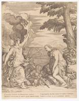 FONTANA, GIULIO -ENGRAVER- (AFTER TITIAN) Religion
