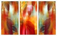 Lingering Leaves Triptych