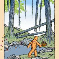 Solstice Bigfoot Art Prints & Posters by Derek Chatwood