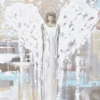 """""""""""By Your Side"""" Angel Painting"""" by ChristineKrainock"""
