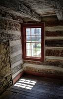 View from the Old Log House