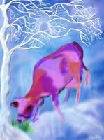 LUCKY COW / RITA WHALEY by Rita Whaley