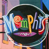 memphismusic Art Prints & Posters by Melinda Patrick