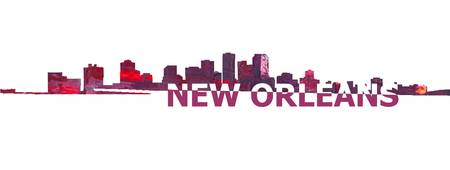 New_Orleans_Skyline_Scissor_Cut_Giant_Text