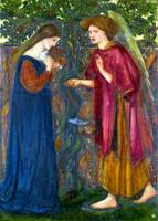 Edward Burne-Jones The Annunciation