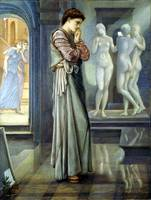 Edward Burne-Jones Pygmalion and the Image